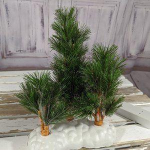 Lemax fiberoptic tree forest xmas hoilday decor sc